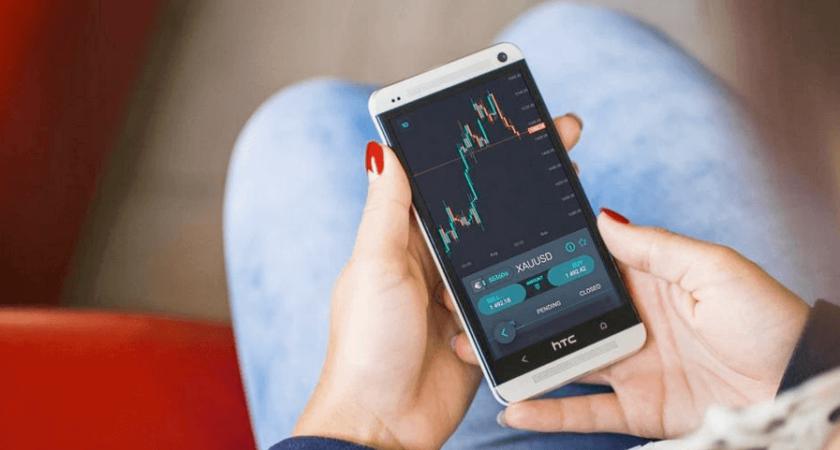 Маржинальная торговля золотом и криптовалютами на вашем мобильном телефоне