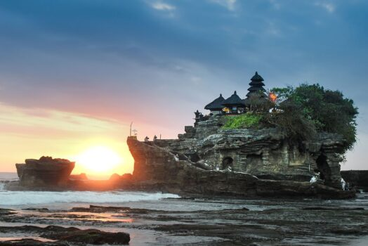 Beautiful Sunset In Bali