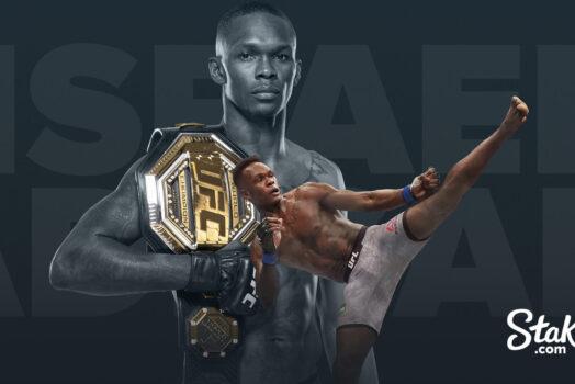 Чемпион UFC Исраэль Адесанья станет новым представителем бренда Stake.com