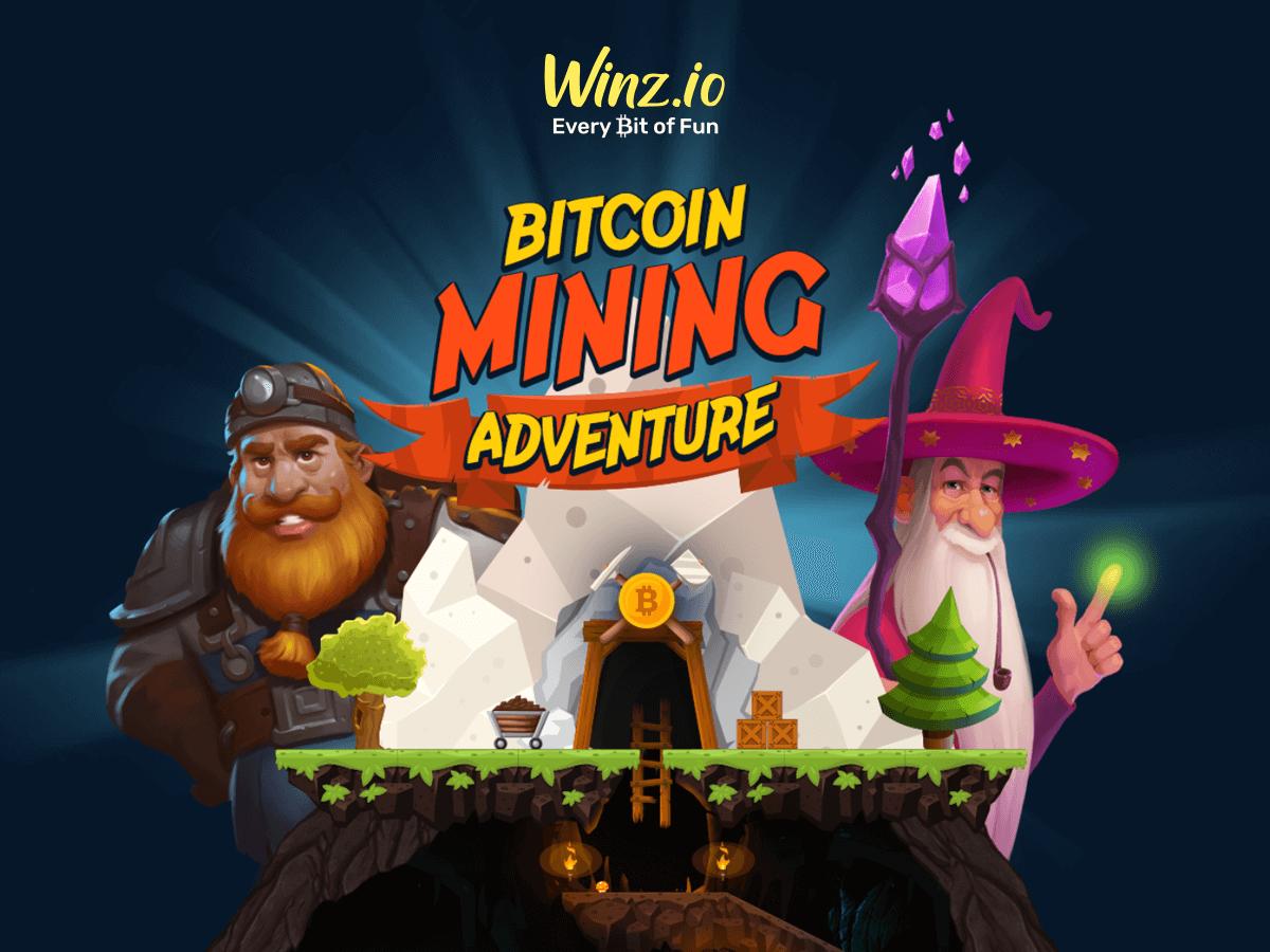 Winz.io запускает приключение по добыче Bitcoin с главным призом в 1 BTC