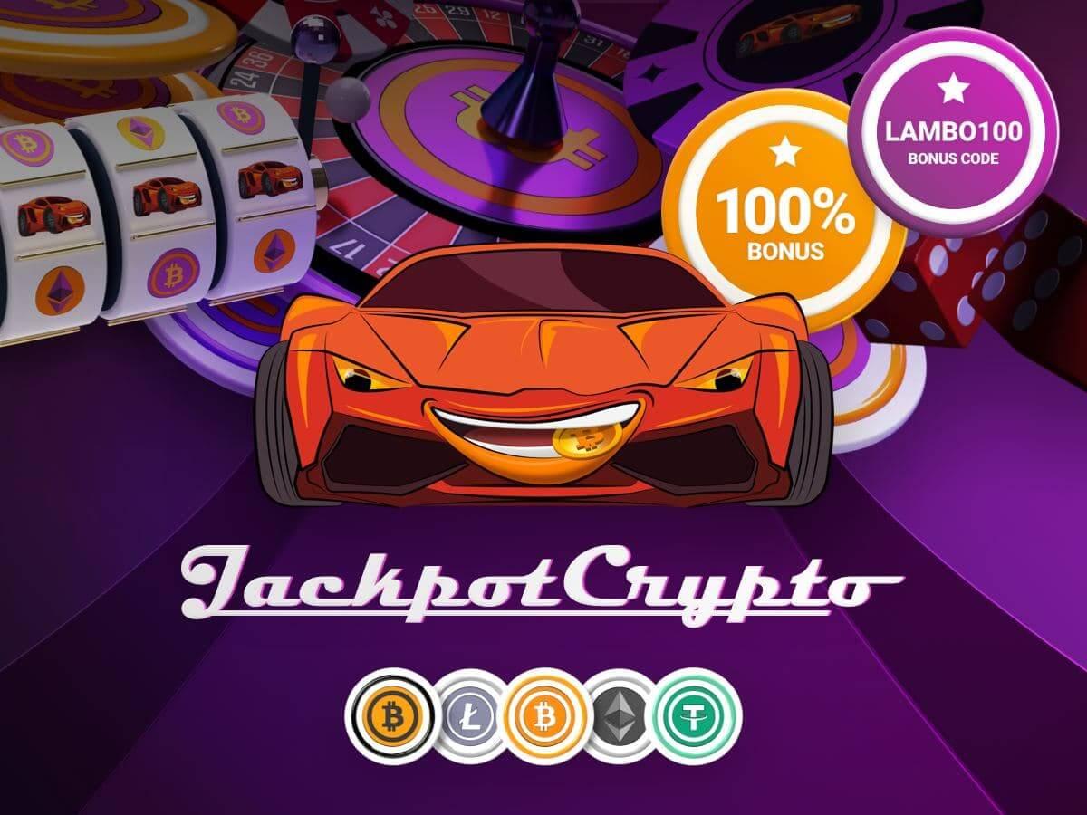Удвойте свою криптовалюту со 100% бонусом в казино JackpotCrypto